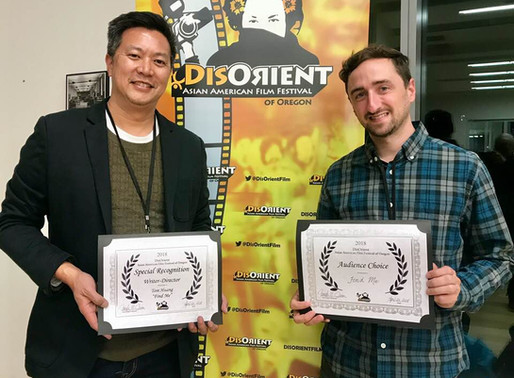 """FIND ME"" WINS AUDIENCE AND JURY AWARDS AS CLOSING NIGHT FILM IN OREGON!"
