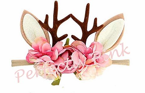 Floral Deer Headbands