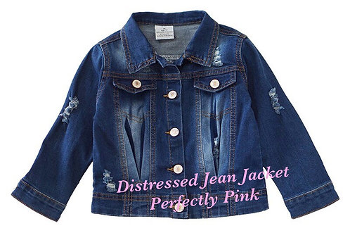 Distressed Jean Jackets