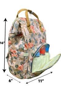 Camo Rose Diaper Bag/Backpack