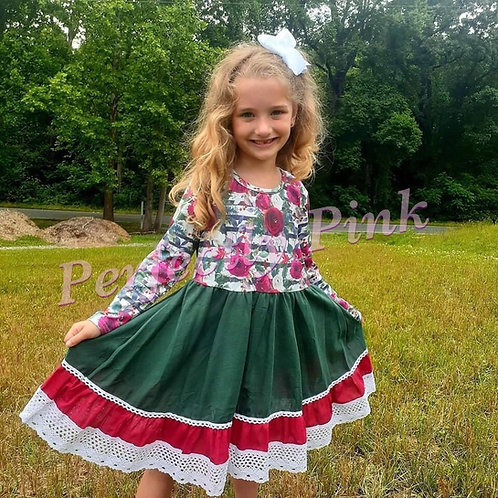 Fall/Winter Beauty Dress (CustomWoven High Quality Cotton)  Ends 6/29