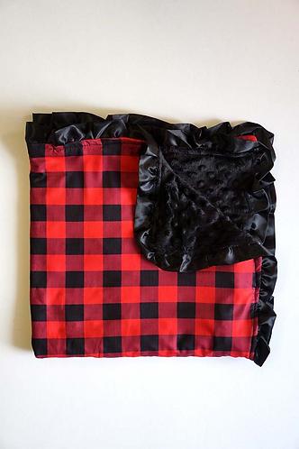 Lumberjack Blanket Red Plaid