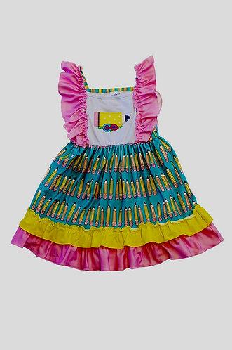 Ready, Set, School  Pencil Dress