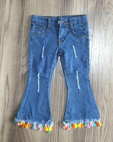 Fun Fringe Jeans