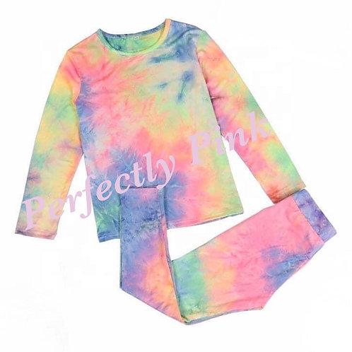 Preorder Tie Dye Pajamas (Half Payment)