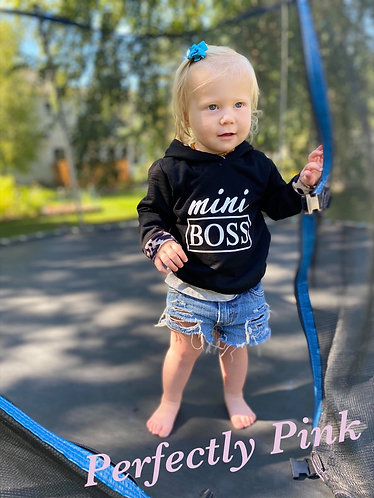 Mini Boss Hoodie