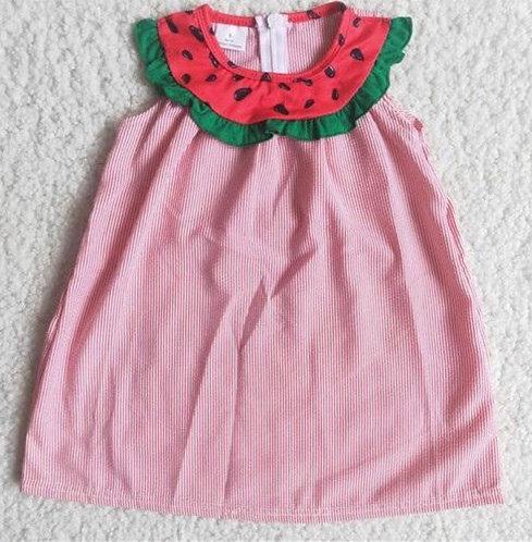 Watermelon Picnic Dress