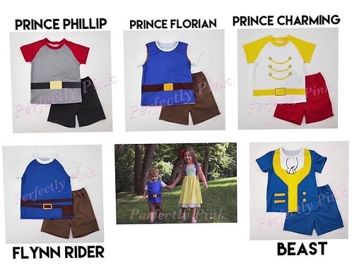 Playground Princess - Prince Outfits is Preorder Ends 1/22