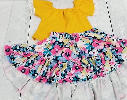 Wildflowers Skirt Set