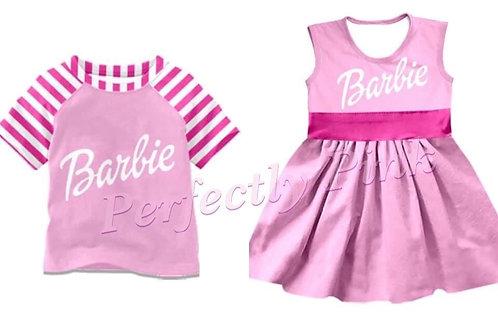 Barbie (Bubblegum Pink)Dress or Shirt Ends 4/26