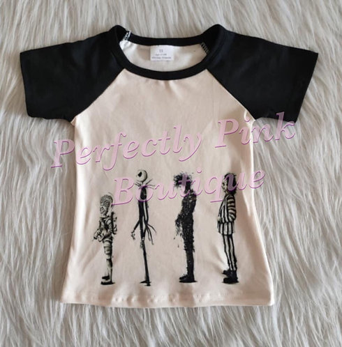 Tim Burton Halloween Boys Shirt Preorder Ends 6/8