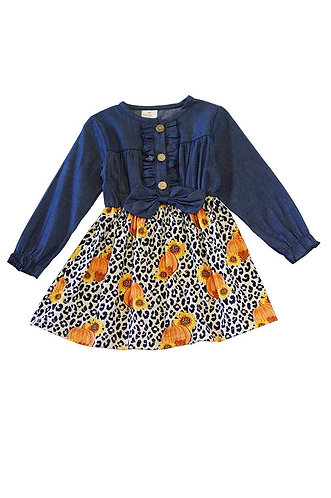 Wild Pumpkins Jean Dress