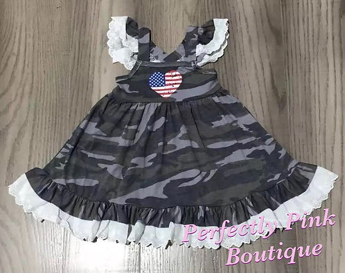 American Camo Dress