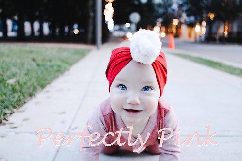 Santa Baby Topknot Headband