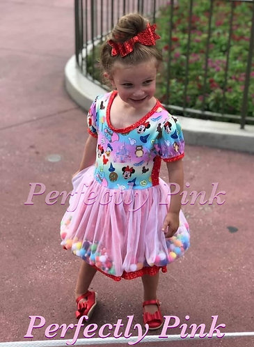 Celebration Pom Pom Dress Preorder Ends 4/14