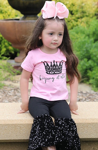 """""""Extra"""" Crown Sequin Outfit"""