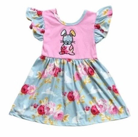 Rosey Bunny Dress