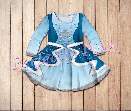 Winter Princess cinderella and Belle Dress Preorder Ends  7/21