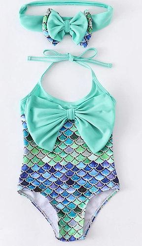Mermaid Sea Swimsuit Set