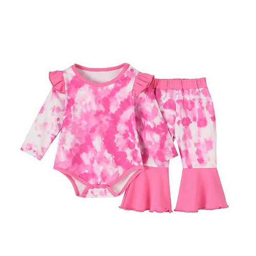 Malibu Tie Dye Infant Set