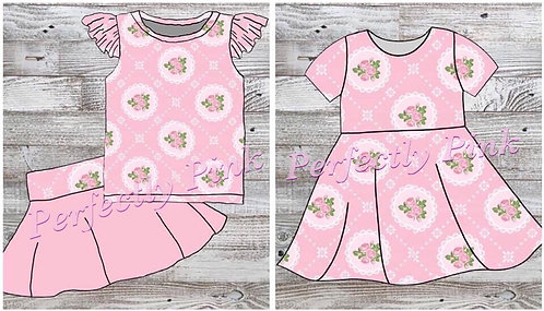 Pretty In Pink Dress or Skirt Set Preorder Ends 3/12