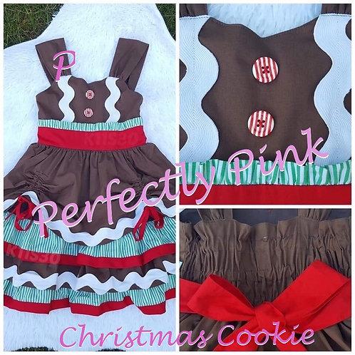 Christmas Cookie Gingerbread Dress Rental
