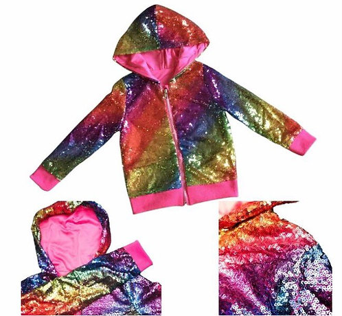 Rainbow Sparkle Jacket