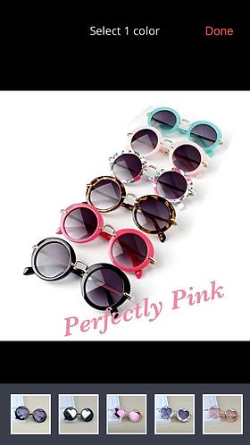Sunnies Round trendy Sunglasses