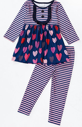 Paper Hearts Outfit (In stock)