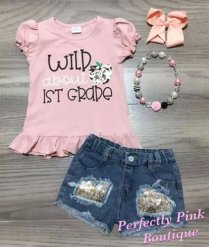 Wild About 1st Grade Set (Accessories Included)
