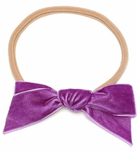 Velvet Bow Headbands (Lots of Colors)