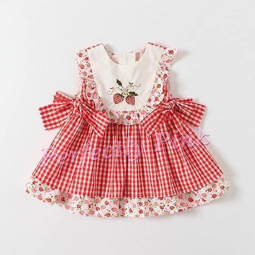 Sweet Strawberry Dress Open Preorder