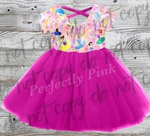 Ballerina Princes Tulle Dress Preorder Ends 2/17