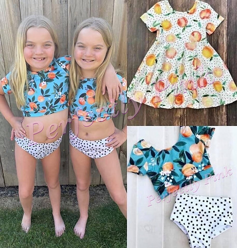 Sweet Peaches Dress or Swimsuit Preorder Ends 4/22