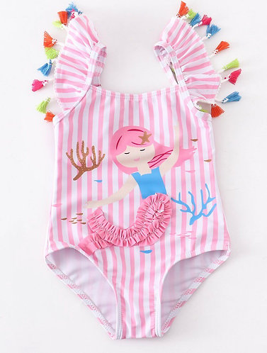 Little Star Mermaid Swimsuit/Leotard