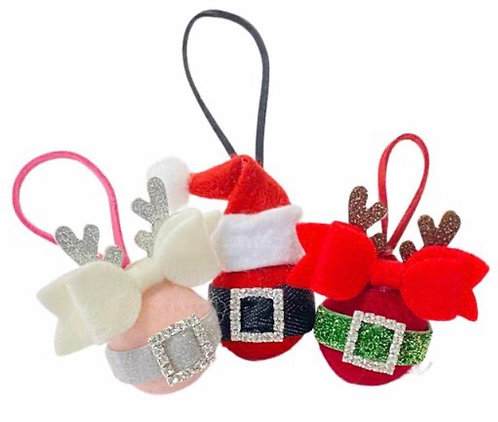 Hairbow Gift Ornaments