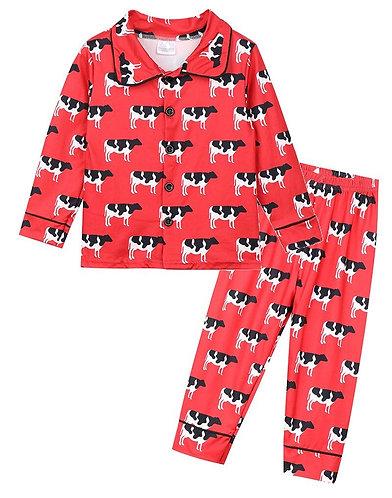 Mooey Cute Friends In the Fields Pajamas