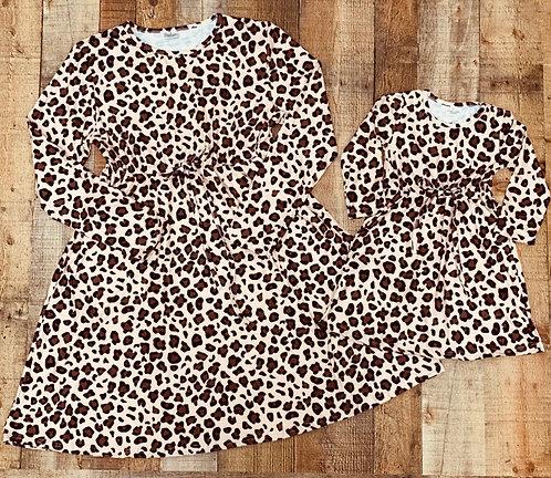Wild For You Mom & Me Tie Dress
