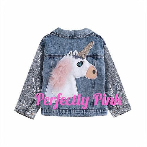 Sparkling Unicorn Jean Jacket