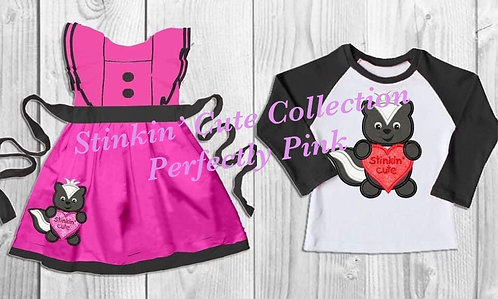 Stinkin' Cute Collection Girls or Boys Shirt Preorder Ends 10/24
