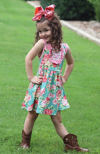 Little Miss Country Doll Dress