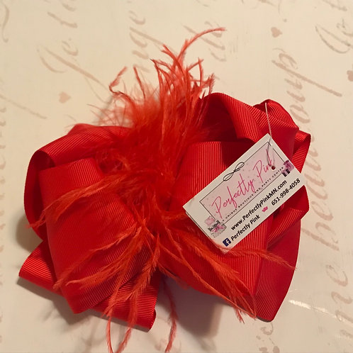 """Feather Bow 6"""" Full Bow"""
