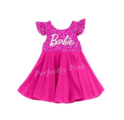 I'm A Barbie Girl Twirl Dress Preorder Ends 3/16