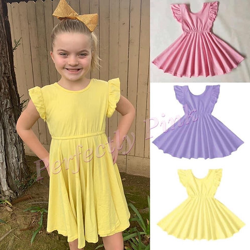 Spring Twirls Dress Preorder ends 1/16 (3 Colors)