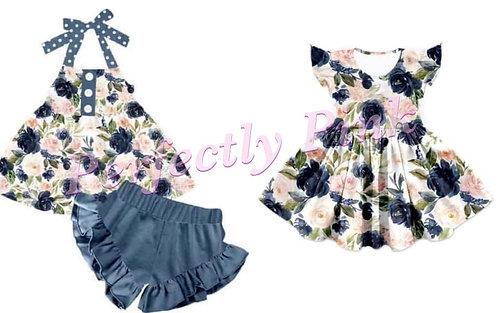 Rose Beauty Shorts set & Dress Preorder Ends 4/19