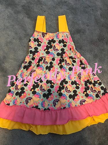 Mickey Donuts Dress