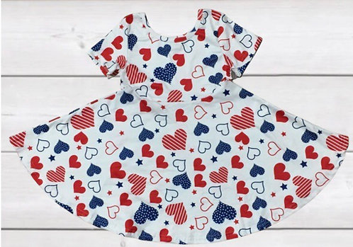 American Hearts Dress
