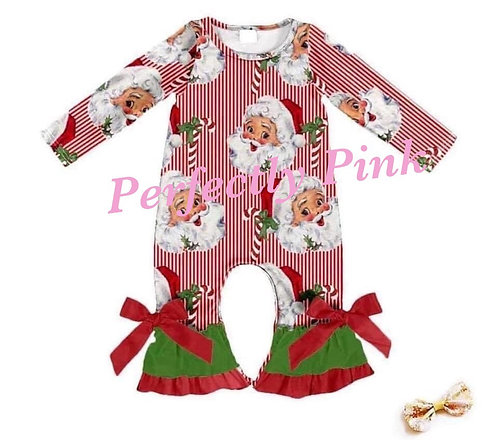 Santa Wishes Christmas Collection(Romper)