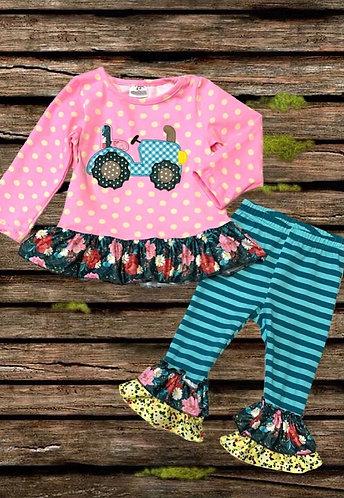 Flower Farm Ruffle Outfit