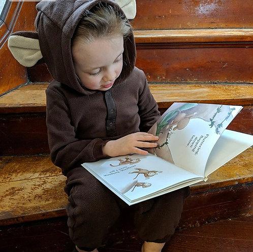 Storysuits Monkey Do Good Book and Monkey Playsuit